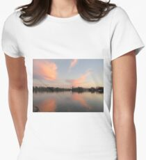 Anchor Cannon vs. Cloud Monster Womens Fitted T-Shirt