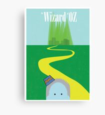 Wizard of Oz Reimagined Canvas Print