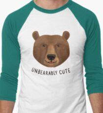 Unbearably Cute Men's Baseball ¾ T-Shirt