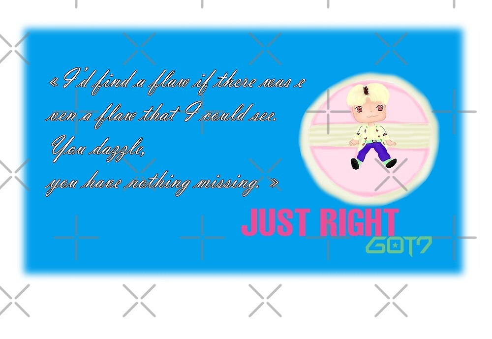 GOT7 ~ Just right ~ Jackson (2a) by liajung