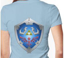 Hylian shield Womens Fitted T-Shirt