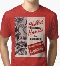 Outsourcing Tri-blend T-Shirt