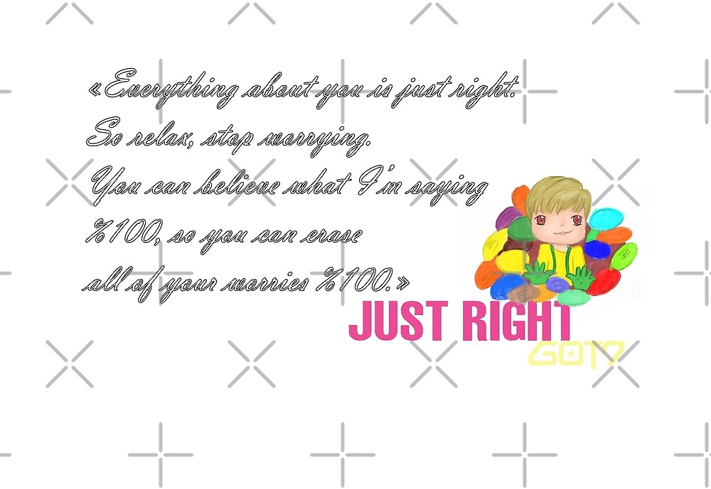 GOT7 ~ Just right ~ BamBam (1b) by liajung
