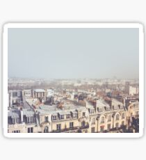 Paris Morning Rooftops Sticker