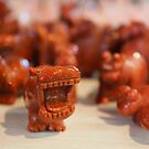 hungry hungry hippo heads by Christine Ford