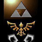 Skyward Sword iPhone Shield- Gold Skulltula Theme by Midna