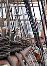 Rigging At Deck Level by Dave Davis