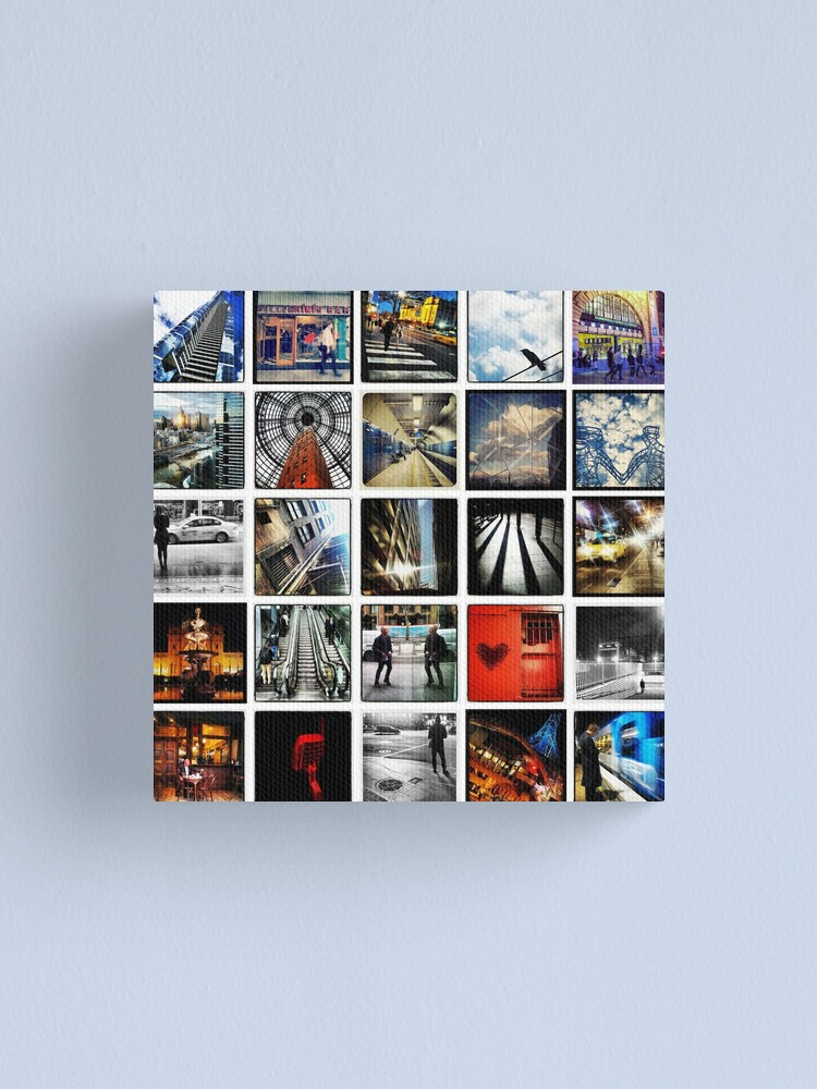 Alternate view of Insta Wall Melbourne Canvas Print