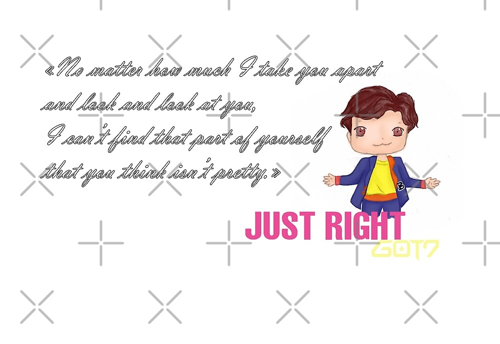 GOT7 ~ Just right ~ YoungJae (1b) by liajung