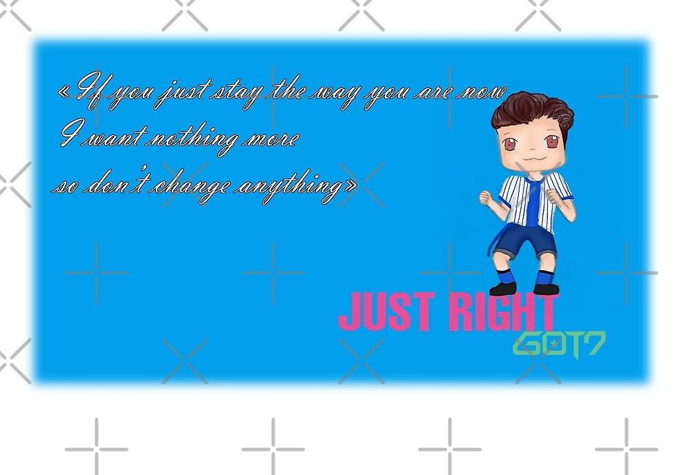GOT7 ~ Just right ~ JB (1a) by liajung
