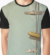 Clothespin Graphic T-Shirt