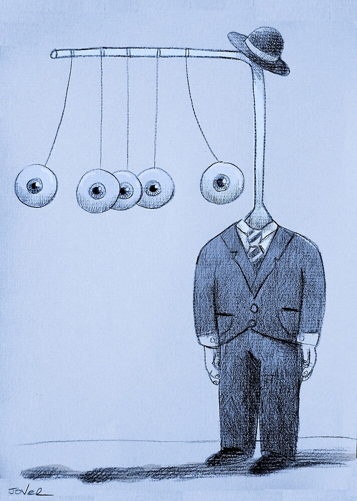 strange worlds from a strange mind : the thinker by Loui  Jover