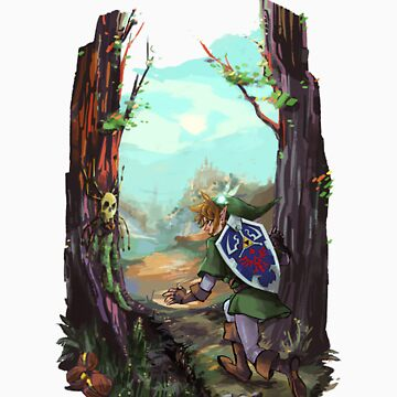 The Legend of Zelda Ocarina of Time by BodomChild666