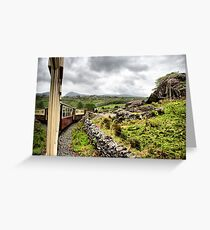 Welsh Highland Railway Greeting Card