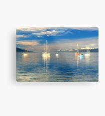 Ushuaia Harbour Metal Print