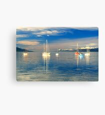 Ushuaia Harbour Canvas Print