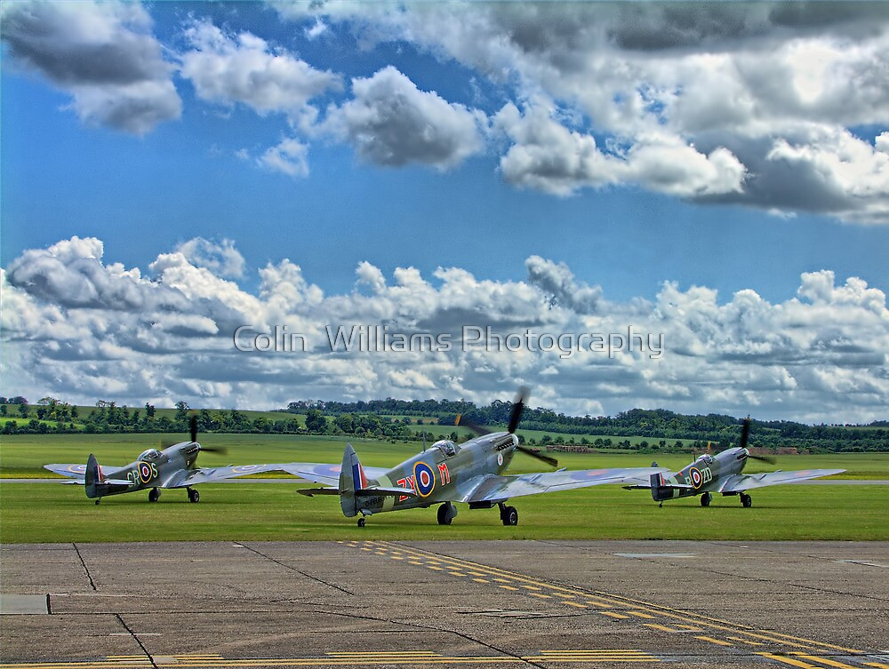 Three Flying Legends ! by Colin  Williams Photography