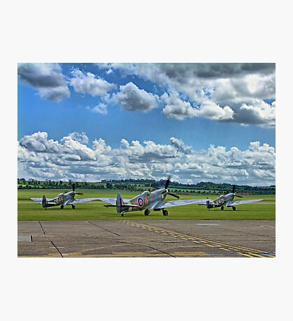 Three Flying Legends ! Photographic Print