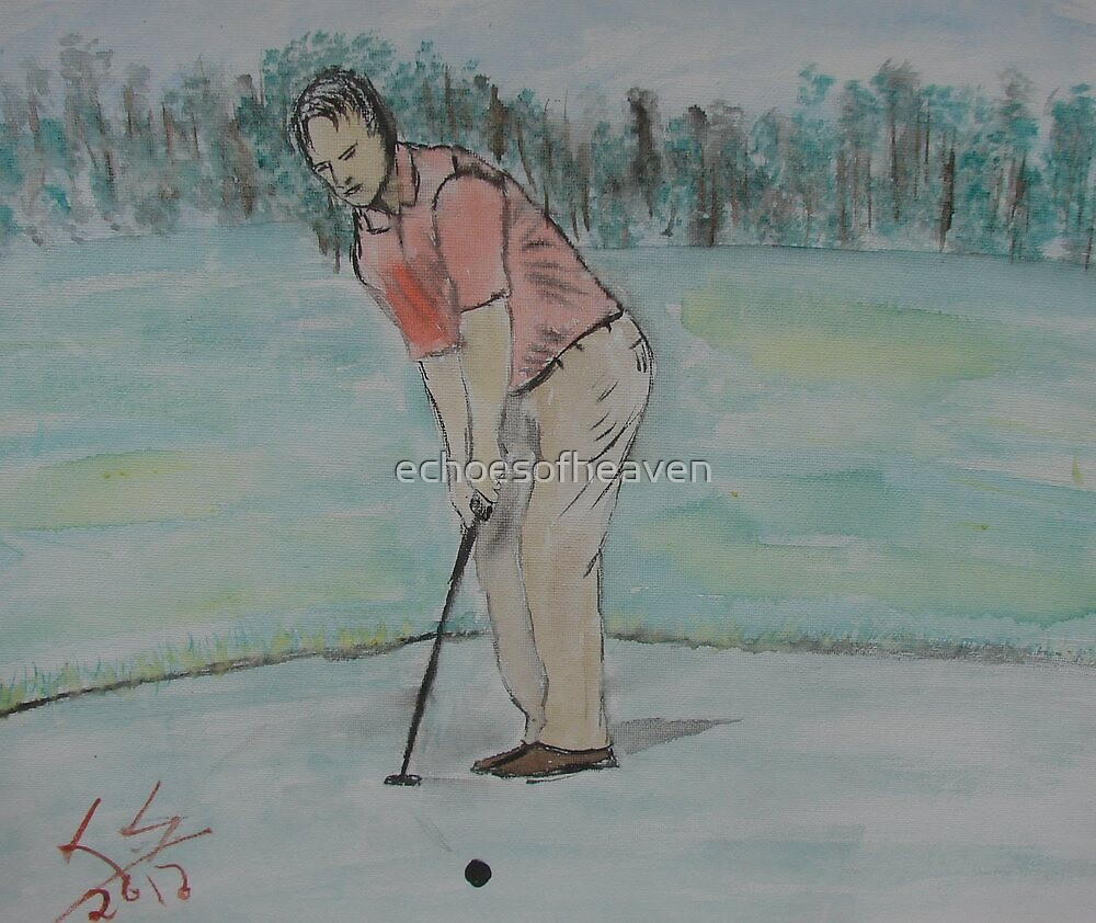 """""""The Putt""""  by Carter L. Shepard by echoesofheaven"""