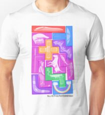 All 12 Free Pentominoes Unisex T-Shirt