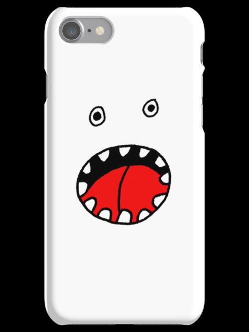 Monster Mashup iPhone Case 2 by bradwoodgate