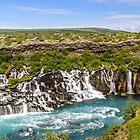 Hraunfossar (Lava-falls) by Ólafur Már Sigurðsson