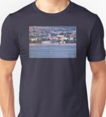 Typhoon Passing Exmouth - Dawlish Air Show 2015 Unisex T-Shirt
