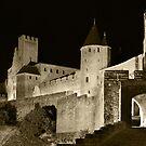 Carcassane castle  by Mark Bunning