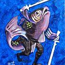 Ninja Fish II by Ellen Marcus