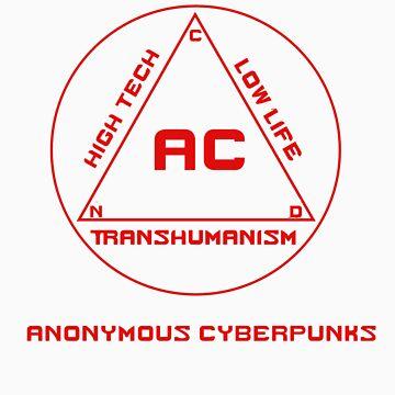 Anonymous Cyberpunks by Elvenmagic