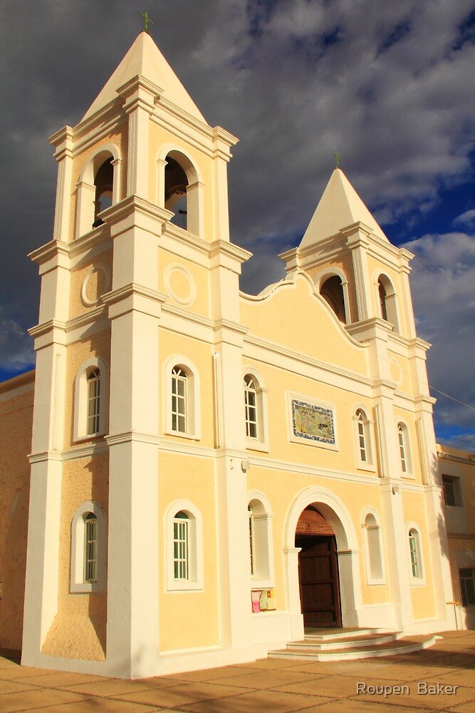 Mission in San Jose Del Cabo by Roupen  Baker