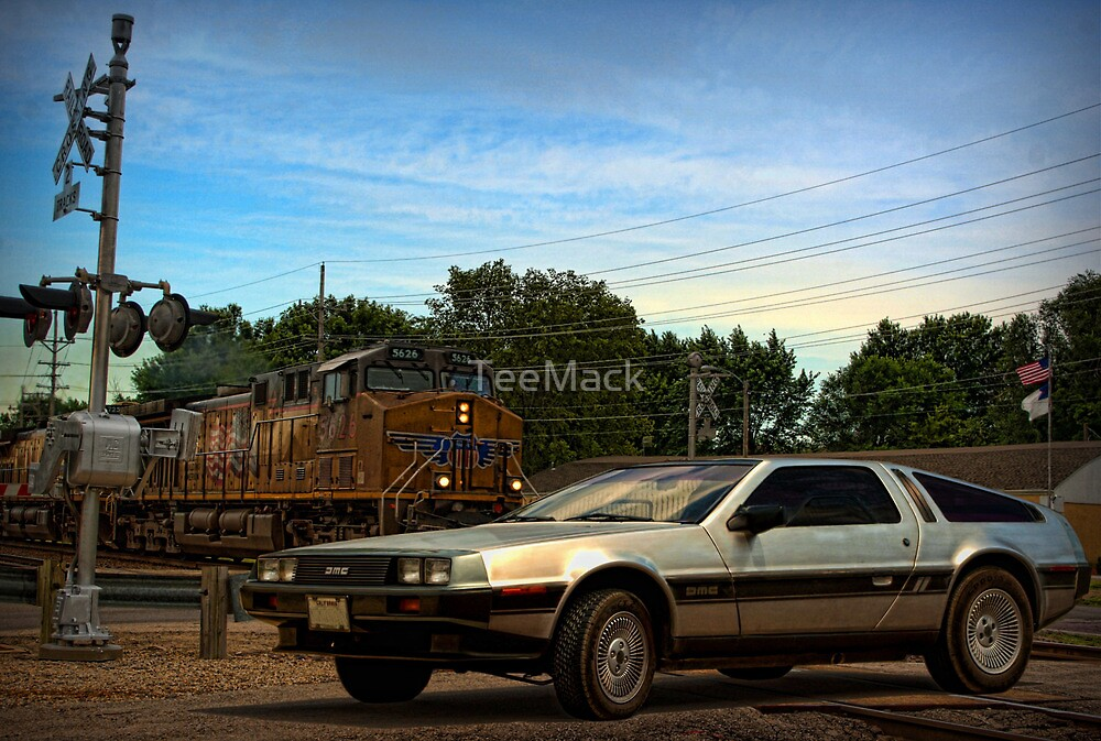 """Back to the Future"" Final Scene by TeeMack"