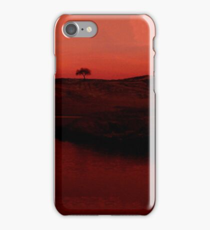 A Tree on a Hill iPhone Case/Skin