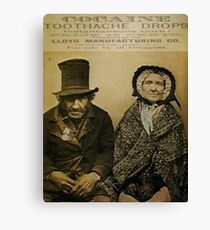 Mother Jones Has A Toothache Canvas Print