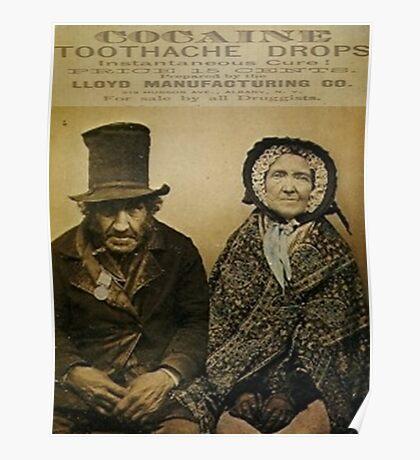 Mother Jones Has A Toothache Poster