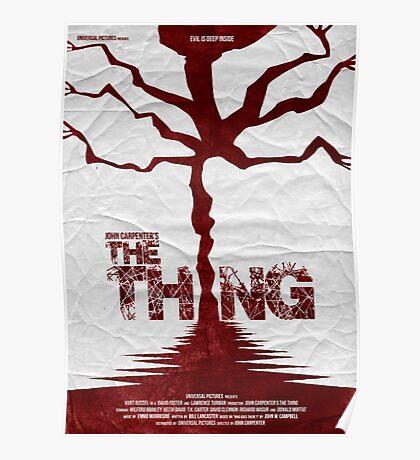 John Carpenter's The Thing Poster