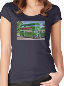 Bristol Tramways and Carriage Company Women's Fitted Scoop T-Shirt