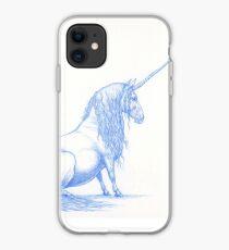 Pudgy Unicorn iPhone Case
