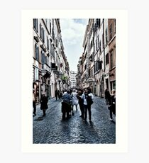 ROME - STREETSCAPE ... (2) Art Print