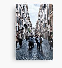 ROME - STREETSCAPE ... (2) Metal Print