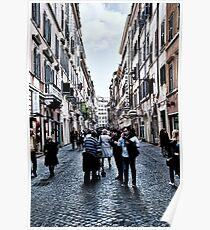 ROME - STREETSCAPE ... (2) Poster