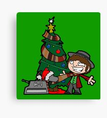 Christmas Doctor! Christmas! Canvas Print