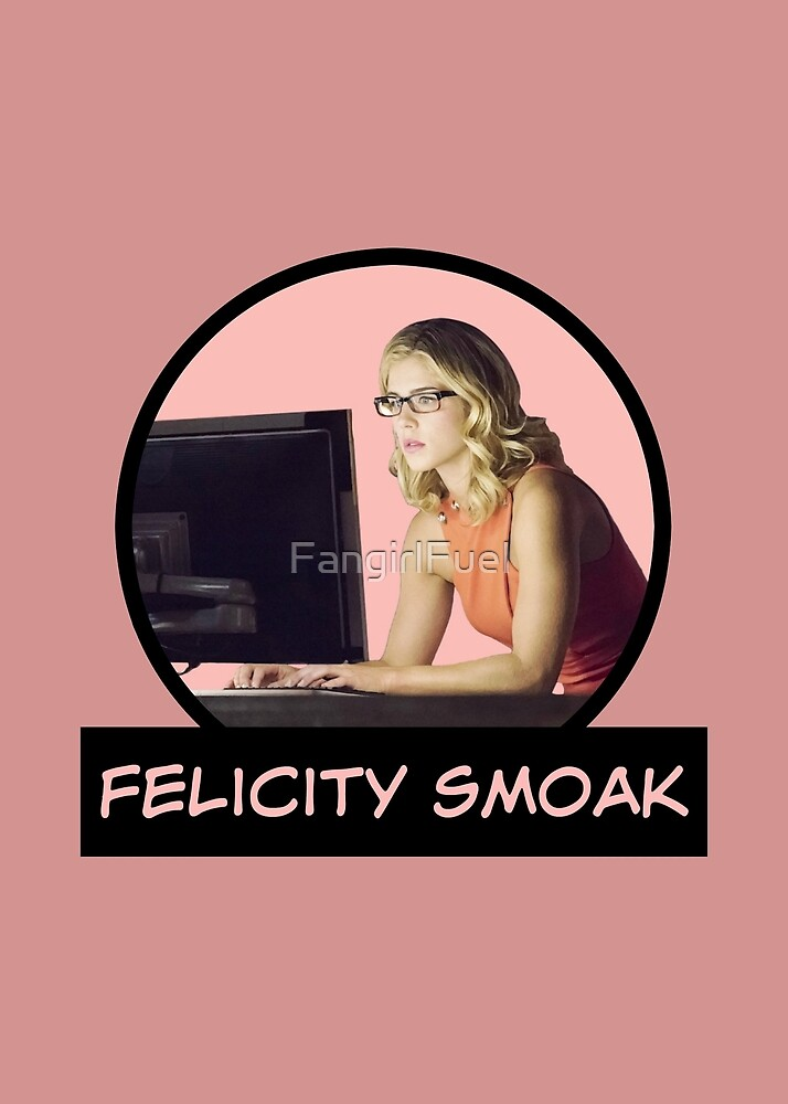 Felicity Smoak - Comic Book Text by FangirlFuel