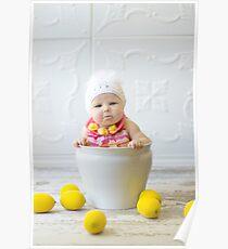 Adorable sour puss Poster