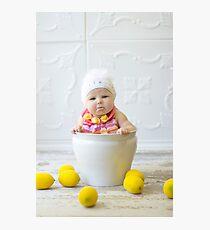 Adorable sour puss Photographic Print