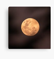 Full Moon July 4 2012 Canvas Print