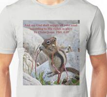 My God Shall Supply Phil. 4:19 Unisex T-Shirt