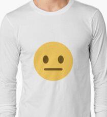 neutral face emoji T-Shirt