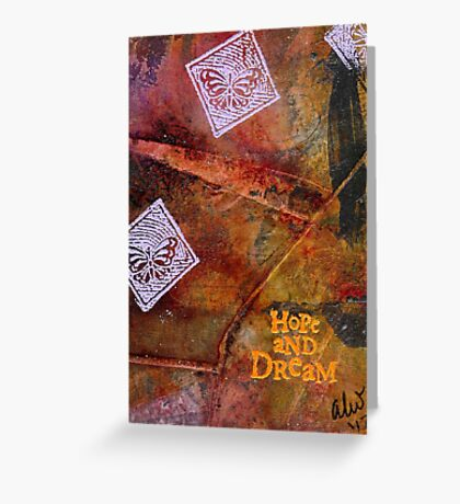 Hopefully Dreaming Greeting Card