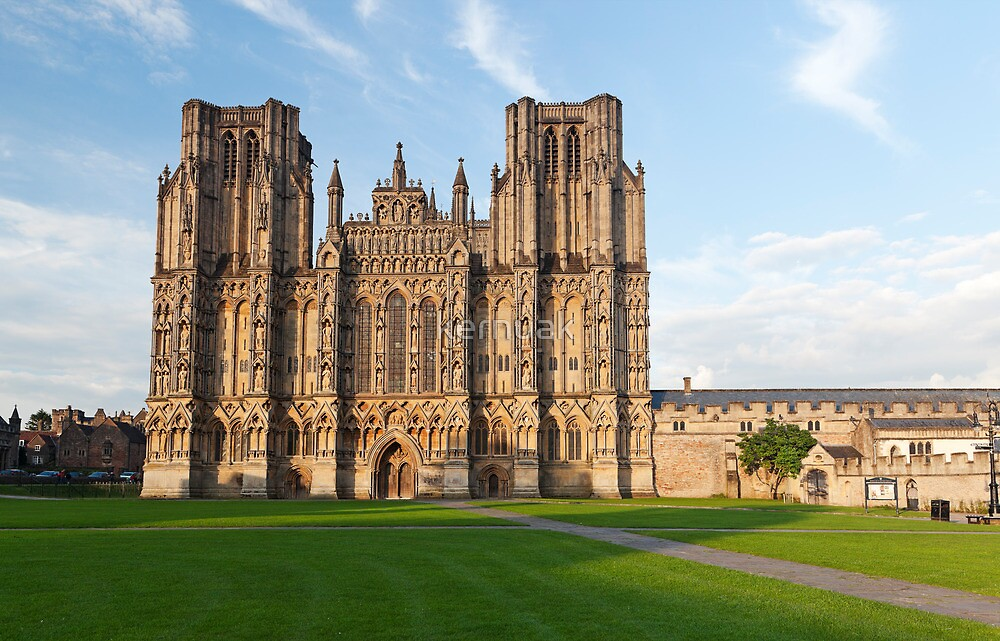 Wells Cathedral by kernuak